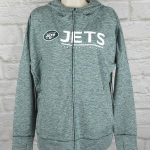 Team Apparel New York Jets Women's Receiver Hoody